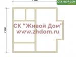 Дом под ключ 7х7 с фундаментом