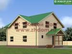Проект дома 9х11 из профилированного бруса
