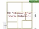 Фундамент под дом 8х8