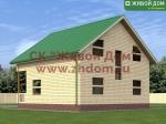 Проект дома 9х9