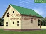 Проект дома 9х10