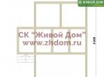 Дом под ключ 6х9 с фундаментом