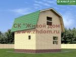 Дом из бруса 6х6 фото