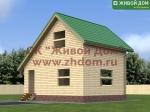 Проект дома 6х7 из профилированного бруса