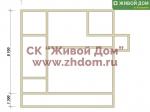 Дом под ключ 9х9 с фундаментом