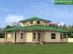 Проект дома 12х12