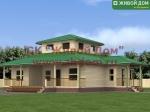 Проект дома 12х12 из профилированного бруса