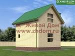 Дом из бруса 5х6 фото