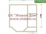 Дом под ключ 5х6 с фундаментом