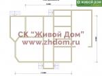 Дом под ключ 9х11 с фундаментом