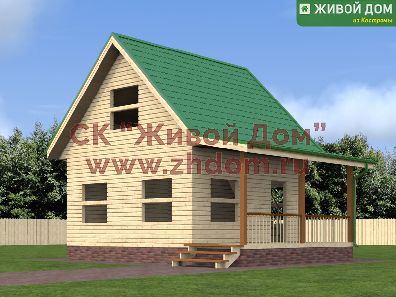 Двойной брус проекты домов с ценами и фото
