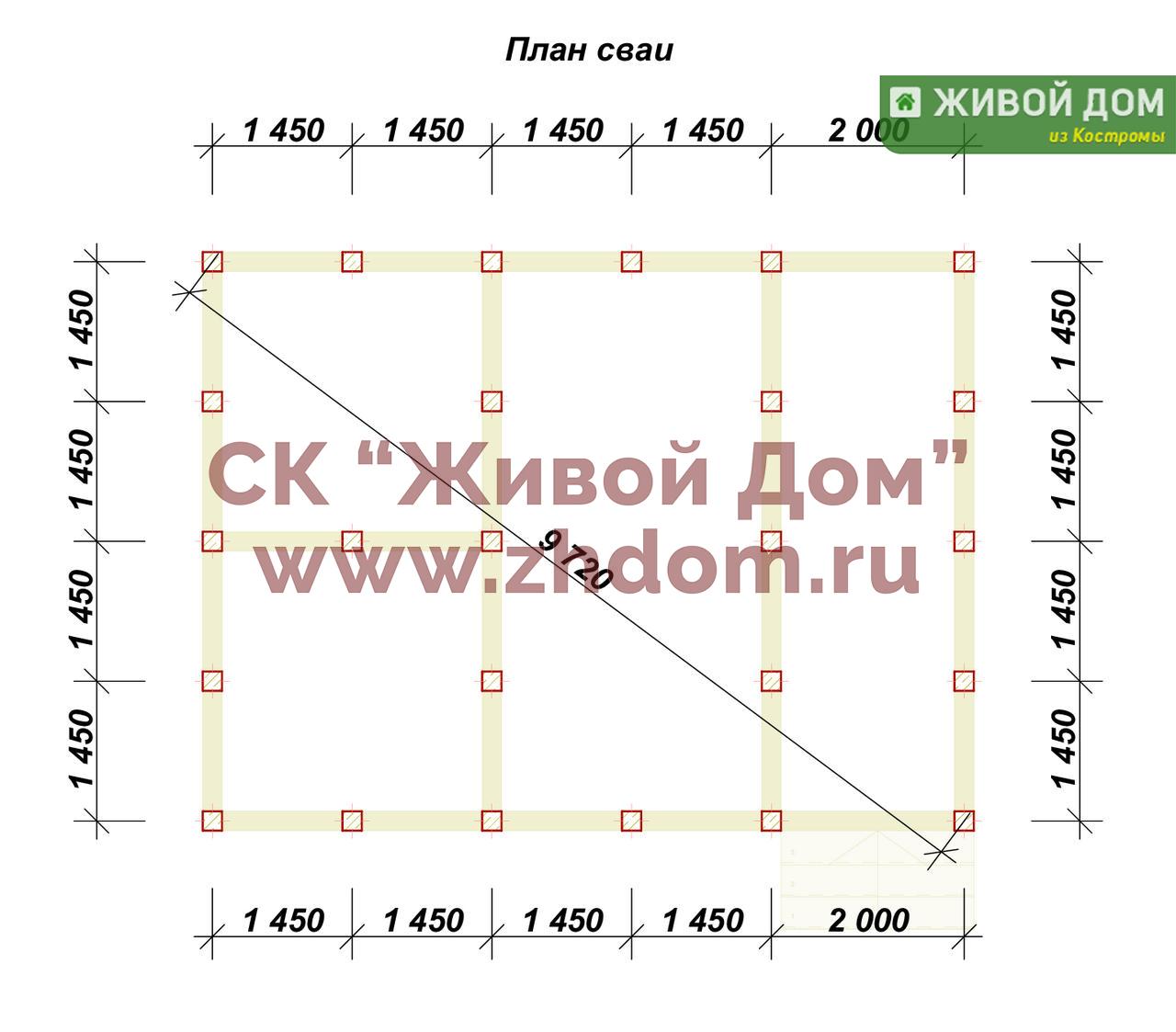 Свайно винтовой фундамент 6х8 цена Щелковский район