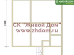 Фундамент под дом 8х8,5