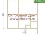 Дом под ключ 8х8,5 с фундаментом