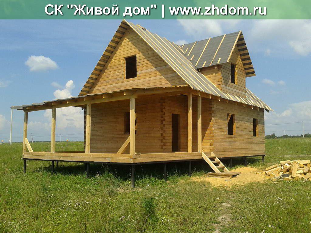 Дом из натурального бруса