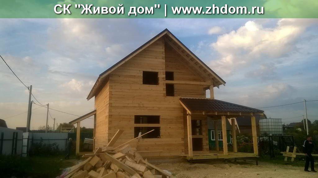Дом из профилированного бруса 150х150