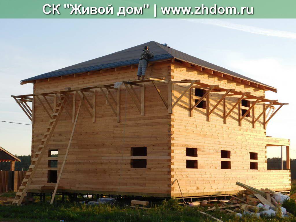 Брусовой дом из Костромы под ключ